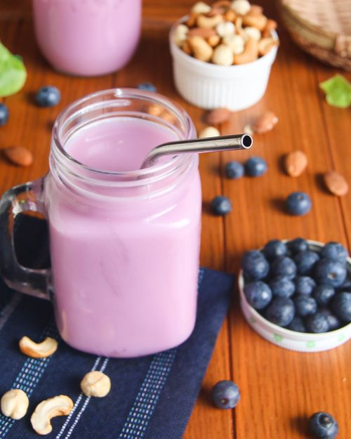 Blueberry cashew nut shake - MKexpress.net