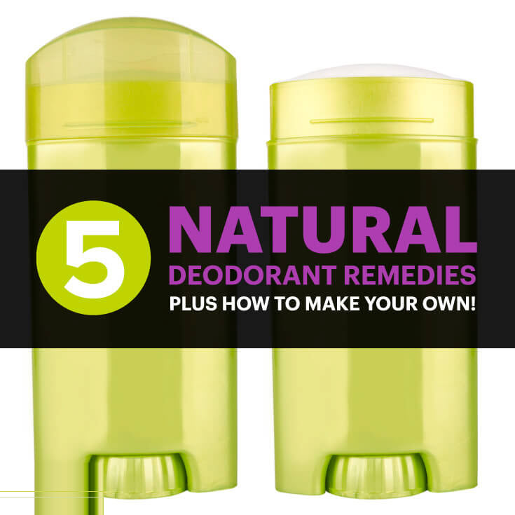 Natural Deodorant Treatments