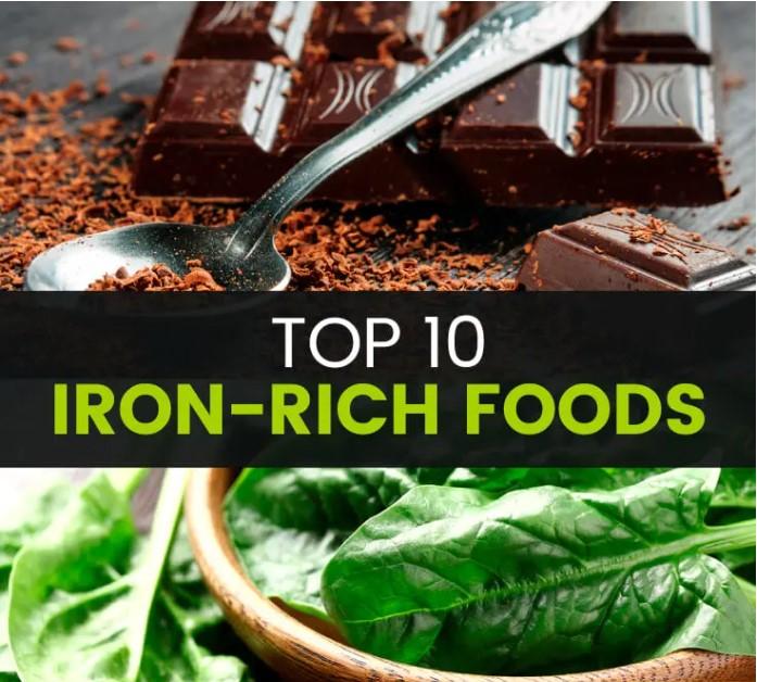 TOP 10 IRON-RICH-FOODS - MKexpress.net