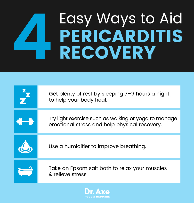 Pericarditis recovery tips - Dr. Axe