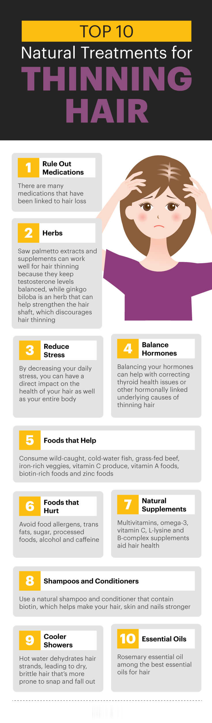 10 natural treatments for thinning hair - MKexpress.net