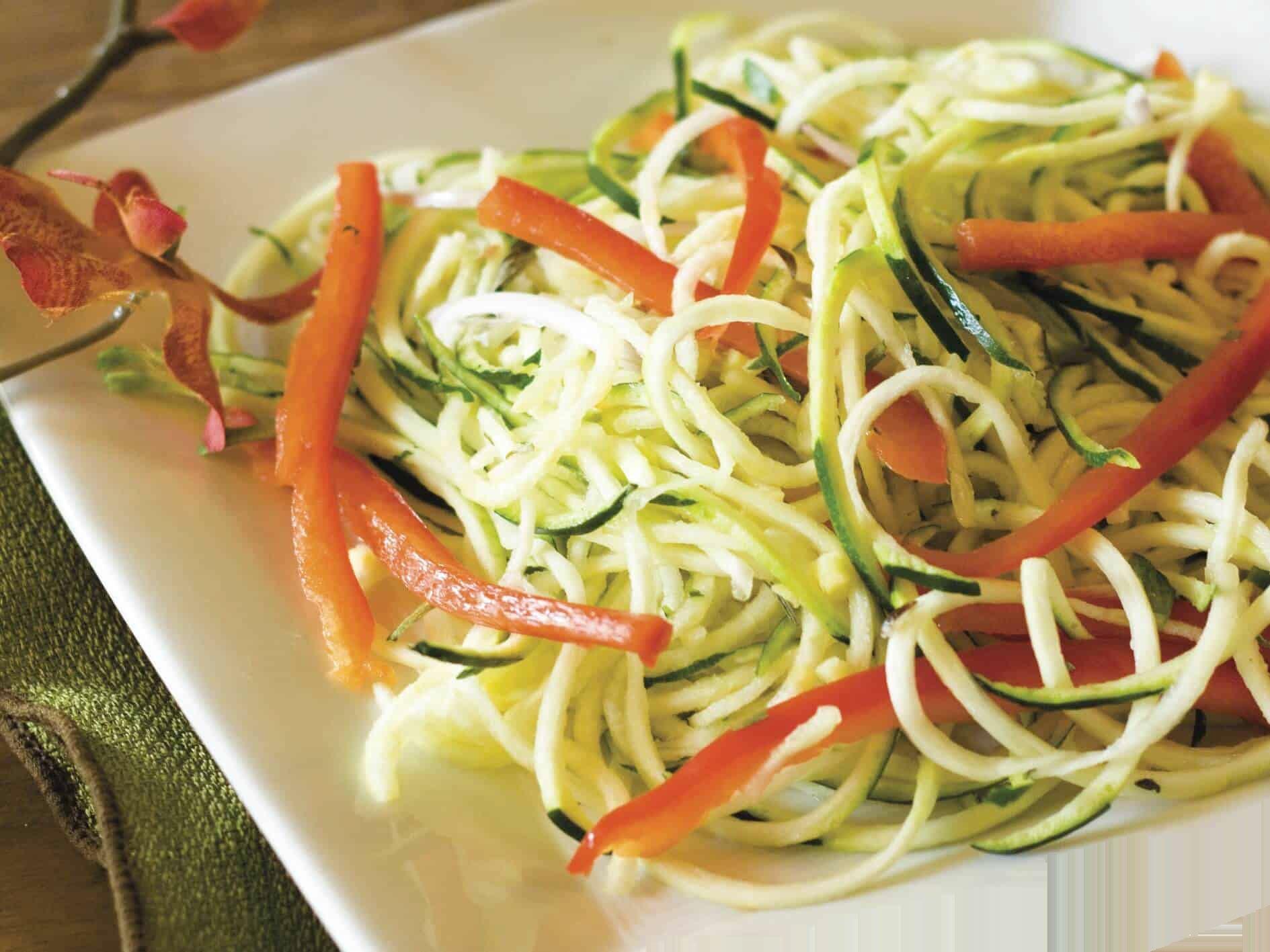 Zucchini-Noodles-with-Marinara-Sauce
