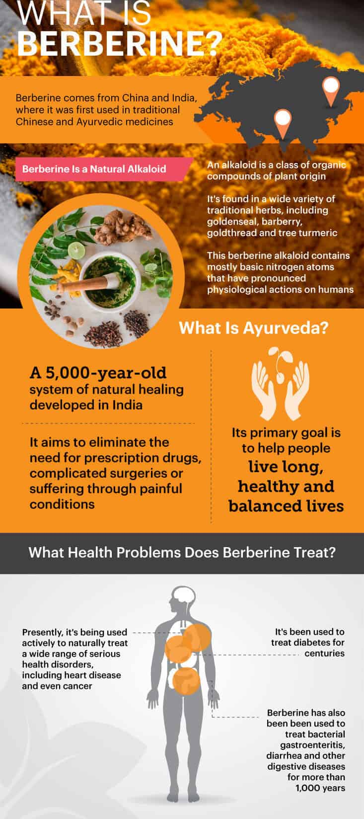 What is berberine?