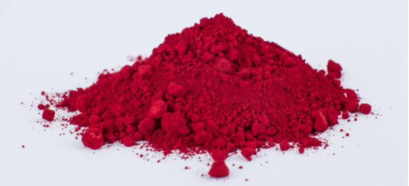 Carmine powder